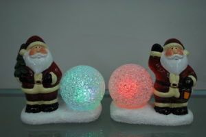 Resin Xmas Candle Stick Candle Holder Craft Home Furniture pictures & photos