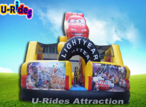 Factory Price Car Shape Inflatable Combo Inflatable Bouncer Jumping Castle With Slide For Kids pictures & photos