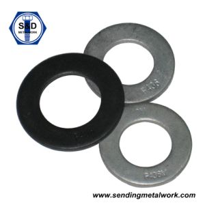 Structural Flat/Plain Washers F436 Zinc Plated/Black Finished