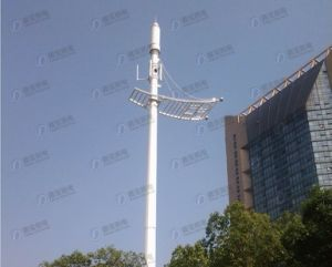 Decorated Steel Tube Green Belt Telecom Tower Station pictures & photos