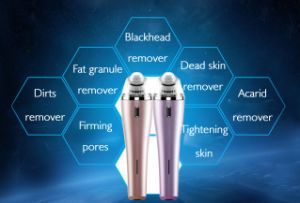 Homeuse Diamond Microdermabrasion Vacuum Cleansing Facial Skin Care Machine Skin Peeling Blackhead Remover pictures & photos