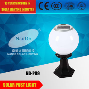 1W White LED Solar Post Light for Garden pictures & photos