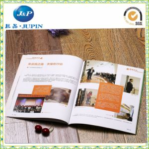 Printing Brochure Custom Fold Paper Flyer Brouchure (MP-013) pictures & photos