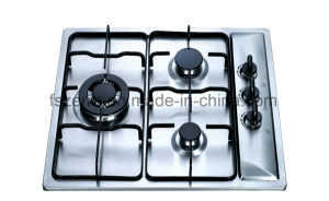 Kitchen Appliance Supplier of China Stainless Steel Gas Hob Jzs53101 pictures & photos