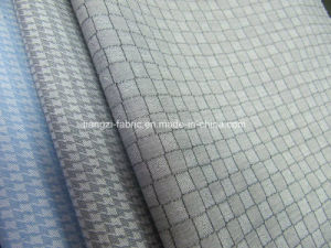 100% Cotton Yarn Dyed Jacquard Small Check Fabric pictures & photos