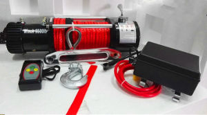 4X4 SUV Recovery Electric Winch Truck Winch (9500lbs-1) pictures & photos