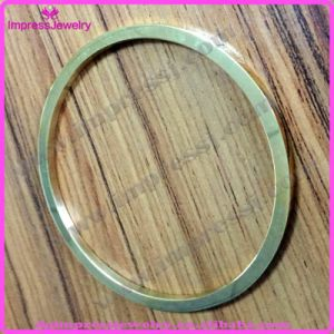 Wholesale 316L Stainless Steel Cuff Bangle Blanks Openable Women Jewelry Bracelet (IJB0454) pictures & photos