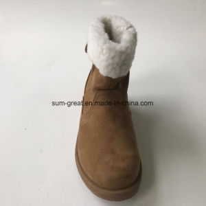 Comfortable Fashion Ankle Women Boots with Cemented TPR Outsole 041 pictures & photos