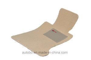 Car Mat Flat Foot Loop Pile PP Fiber Carpet Black Red pictures & photos