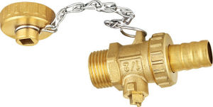 Standard Mini Brass Valve with Cap pictures & photos