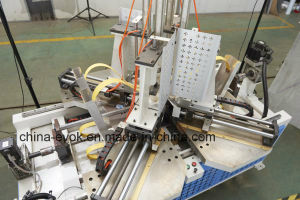 CNC High Frequency Wood Frame Corner Joint Machine Tc-868c pictures & photos