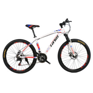 "Good Quality 24""/26""/27.5"" 21-Speed Shimano Derailleur Aluminum Alloy Mountain Bike pictures & photos"