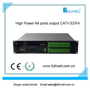 Fullwell Multi Port 64/32/16 Ports Fiber Optical Amplifier 1550nm CATV EDFA (FWA-1550H-64X15) pictures & photos