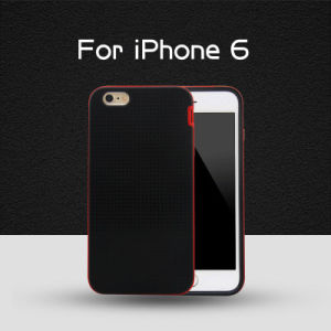 Attractive 2 in 1 Grid Pattern Phone Case for iPhone 6 pictures & photos