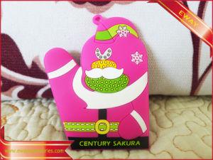 Garment Rubber Logo Soft PVC Label pictures & photos