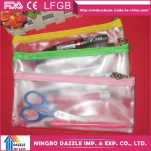 Wholesale Zipper Transparent School Kids PVC Pencil Case pictures & photos