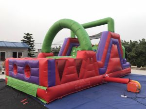 Giant Inflatable Game 0.55mm PVC Inflatable Obstacle Course pictures & photos