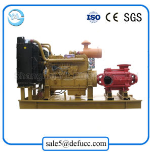 Factory Price of Diesel Engine Multistage Centrifugal Dewatering Pump pictures & photos