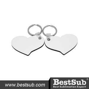 Bestsub Sublimation Hb Lover Hearts Key Ring (MYA14) pictures & photos