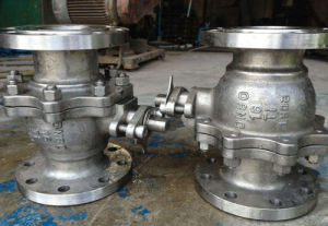 Cast Steel Trunnion Mounted Ball Valve (Q347) pictures & photos