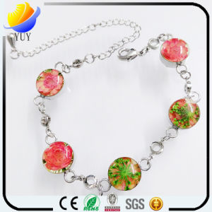 Sweet Love Simple Beautiful Four Leaf Clover Charm Bracelet pictures & photos