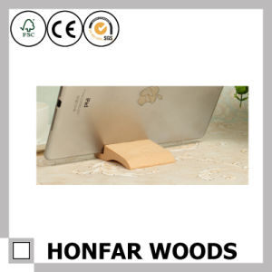 Creative Promotional Gift Beech Wood Phone Holder pictures & photos