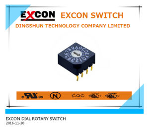 Dial Switch DC Rotary Switch Waterproof Meet IP67 pictures & photos