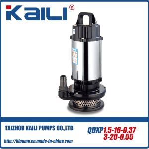 QDX Submersible Pump (QDX10-16-0.8)With 3 Size Outlet pictures & photos