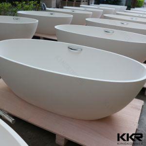 Wholesale Solid Surface Artificial Stone Bathtub pictures & photos