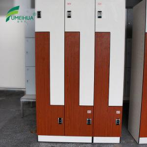 Z Shape Door Swimming Pool Locker/ HPL Compact Laminate Locker pictures & photos