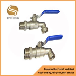 Pn16 Brass Chromed Bib Cock Ball Valve pictures & photos