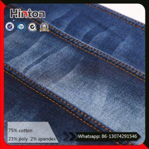Dark Blue 10oz Stretch Denim Jeans Fabric for Pants pictures & photos