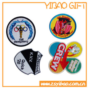 Custom Embroidery Uniform Patch for Decoration (YB-LY-P-10) pictures & photos