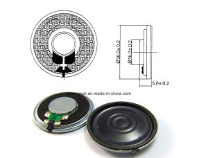36mm 4-32ohm 0.25-2W Mylar Micro Speaker with RoHS pictures & photos