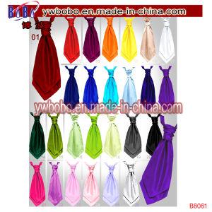 Children Boys Kids Solid Plain Satin Elastic Neck Tie Necktie Wedding Party (B8062) pictures & photos
