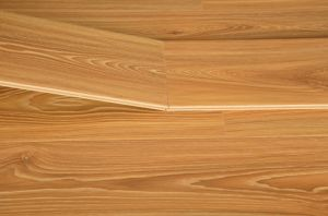 Golden High Gloss Laminate Flooring pictures & photos