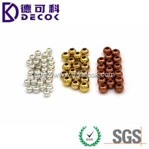 3mm 6mm 8mm 10mm Fashion Jewelry Hole Ball Metal Ball 316L Stainless Steel Jewelry pictures & photos
