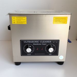 Tense Small Ultrasonic Cleaning Machine with Mechanical Control pictures & photos
