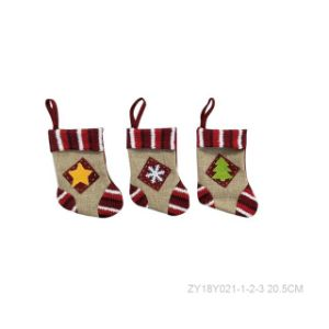 Christmas Star Sock Decoration pictures & photos