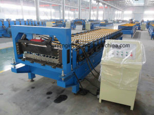 Steel Galvanized Roofing Wall Roll Forming Machine Line/ Machinery pictures & photos