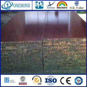 Wood Grain Aluminum Honeycomb Panel pictures & photos