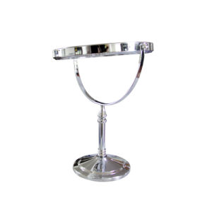 Bathroom Elegance Stainless Steel Desktop Table Vanity Mirror (Q06) pictures & photos