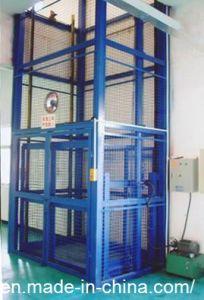 Warehouse Vertical Material Lift Platform/ Guide Rail Cargo Lift (LZ-SJT)