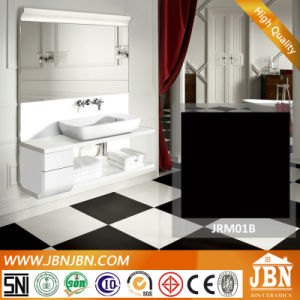 Super Black Super White Floor Polished Porcelain Tile (JRM01B, JRM00B) pictures & photos