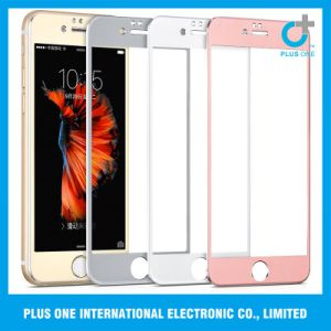 Titannium Alloy Colorful Full Cover Tempered Glass for iPhone 6/6s