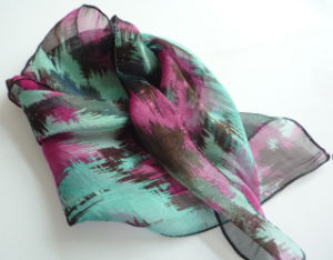 OEM Design Chinese Silk Scarf pictures & photos