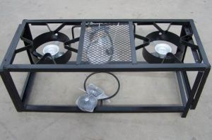 Outdoor Folding Camping Stove 2 Burners Cooker