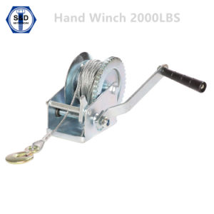 2000lbs Hand Winch Boat Winch Manual Winch pictures & photos