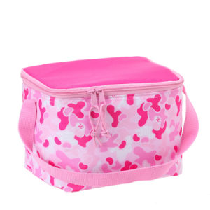 Fashion Polyester Cooler Lunch Bag Maker for Girl and Boy pictures & photos