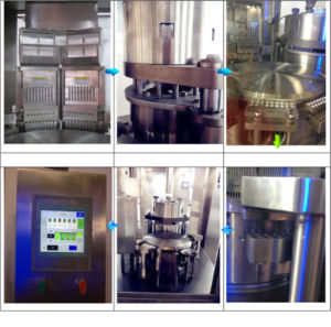 Multifunctional Fully Automatic Powder Micro-Pills Capsule Filling Machine pictures & photos